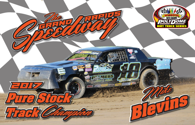 Pure Stock Champ #10 Mike Blevins